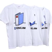 キングジムTシャツ